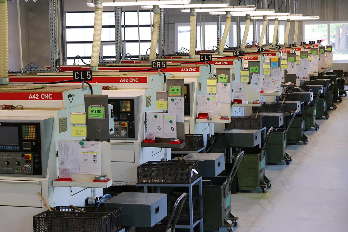 MAS-Gruppe: Technologie bei der METUSAN TURNING GmbH