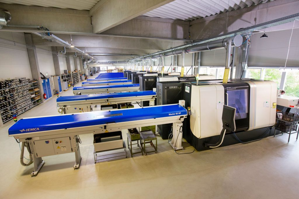 Drehtechnik bei der METUSAN TURNING GmbH: Drehautomat DMG Sprint