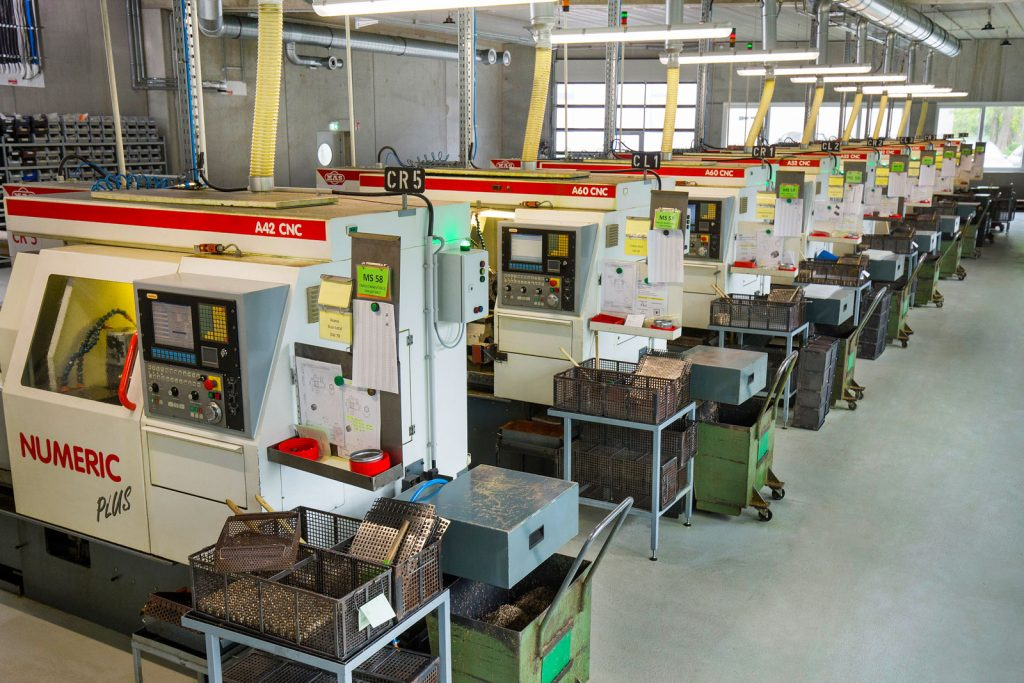 Drehautomat Maier F4 bei der METUSAN TURNING GmbH
