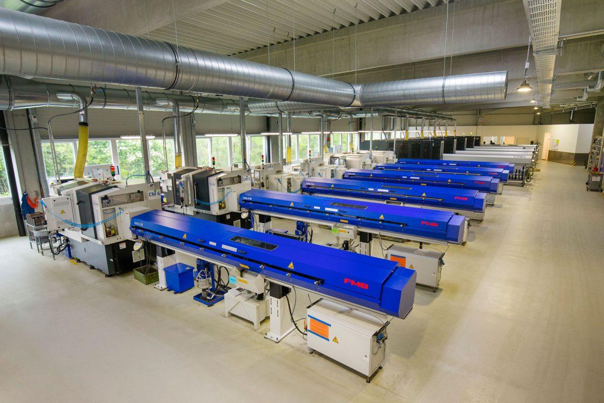 CNC Drehautomat Maier F4 bei der METUSAN TURNING GmbH