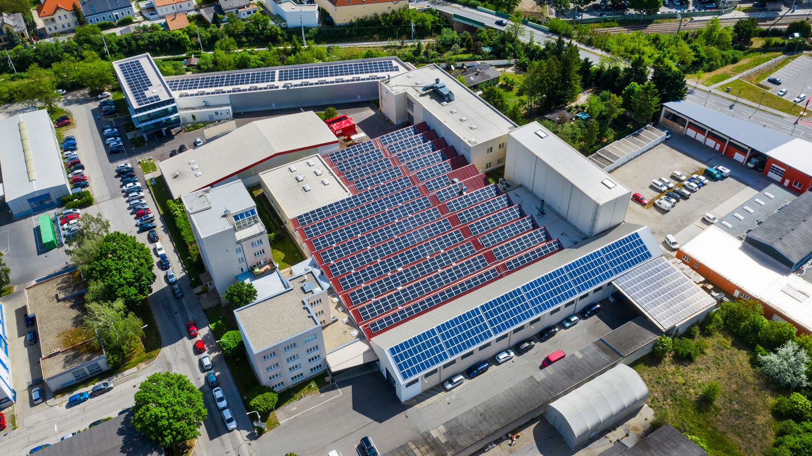 Luftaufnahme METUSAN TURNING GmbH