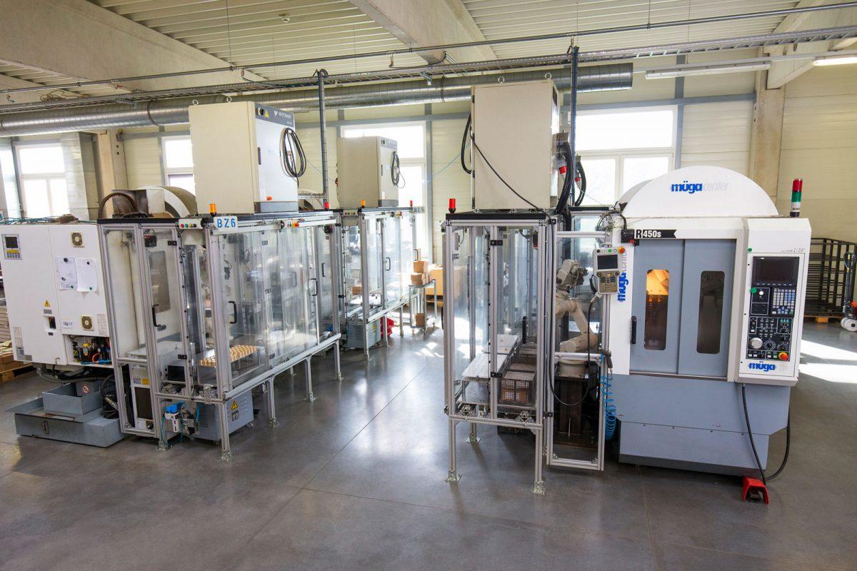 Bearbeitungszentren bei METUSAN TURNING GmbH