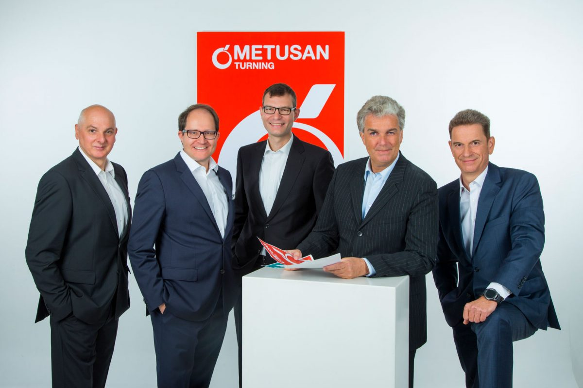 Management Team der METUSAN TURNING GmbH