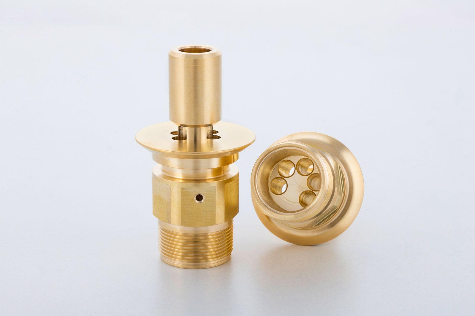 Armaturenteile produziert durch METUSAN TURNING GmbH