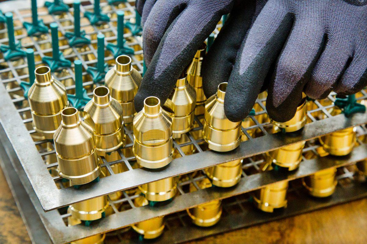 Sorgsame Handhabung bei METUSAN TURNING GmbH