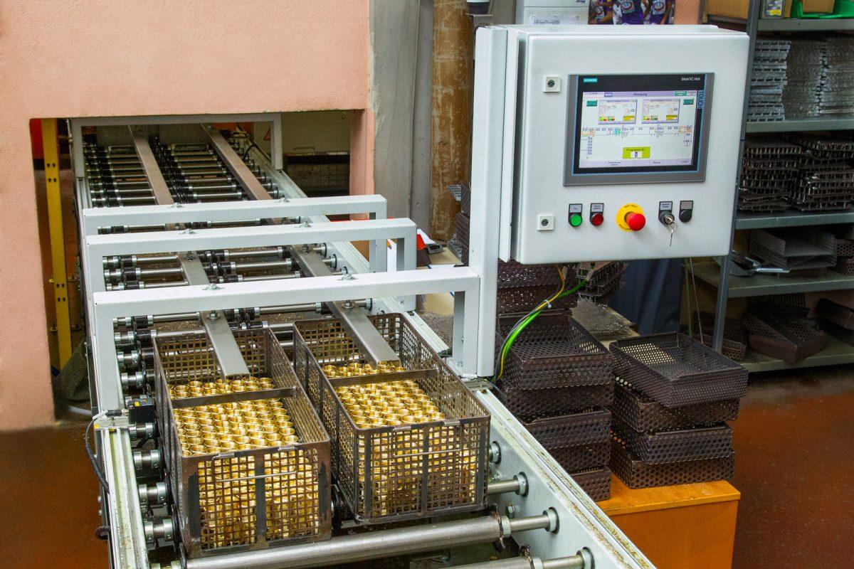 Reinigungsanlagen: Teilereinigung bei der METUSAN TURNING GmbH