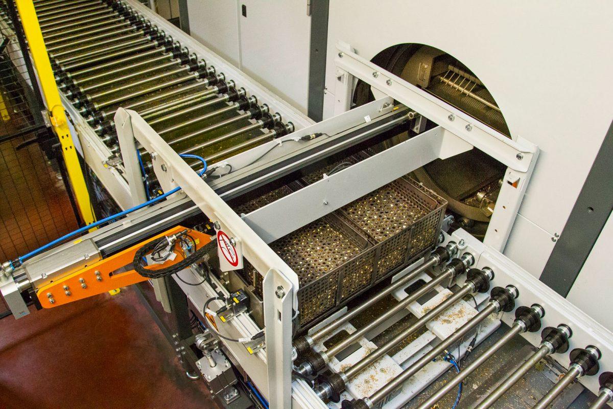 Waschanlage bei METUSAN TURNING GmbH