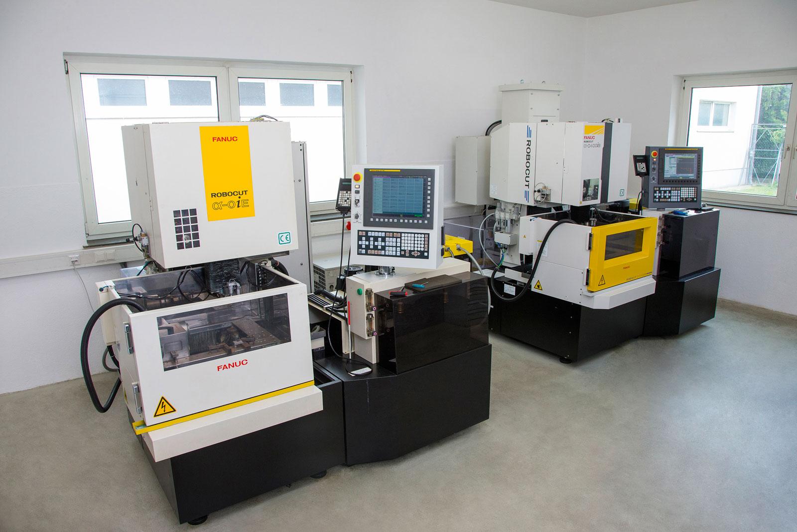 Drahterodieranlagen bei METUSAN TURNING GmbH